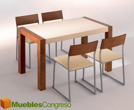 Mesas y sillas de cocina de madera mesa de silla de for Mesa redonda de madera para cocina